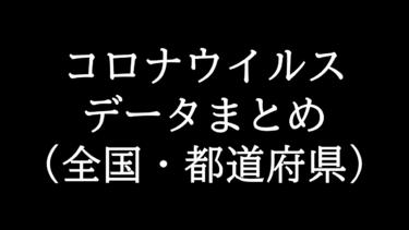 コロナウイルス:全国と都道府県別感染者数まとめ(更新:2020年5月7日16:00)